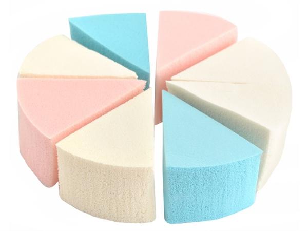 Fashion Cosmetic trojúhelníkové houbičky na make-up 8 ks