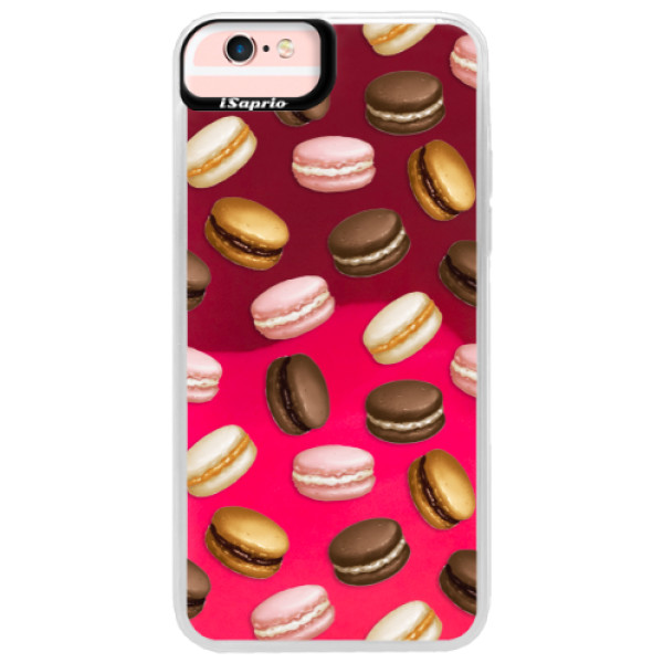 Neonové pouzdro Pink iSaprio - Macaron Pattern - iPhone 6 Plus/6S Plus