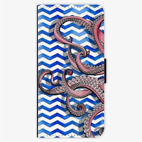 Flipové pouzdro iSaprio - Octopus - Samsung Galaxy S7 Edge