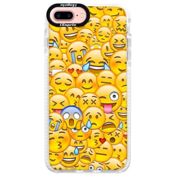 Silikonové pouzdro Bumper iSaprio - Emoji - iPhone 7 Plus