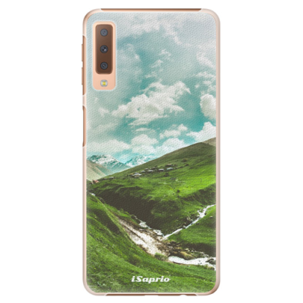 Plastové pouzdro iSaprio - Green Valley - Samsung Galaxy A7 (2018)