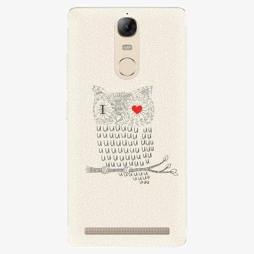 Plastový kryt iSaprio - I Love You 01 - Lenovo K5 Note