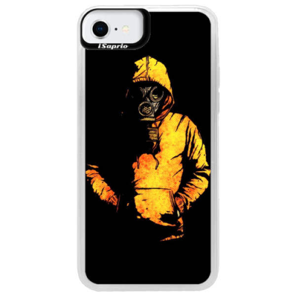 Neonové pouzdro Blue iSaprio - Chemical - iPhone SE 2020