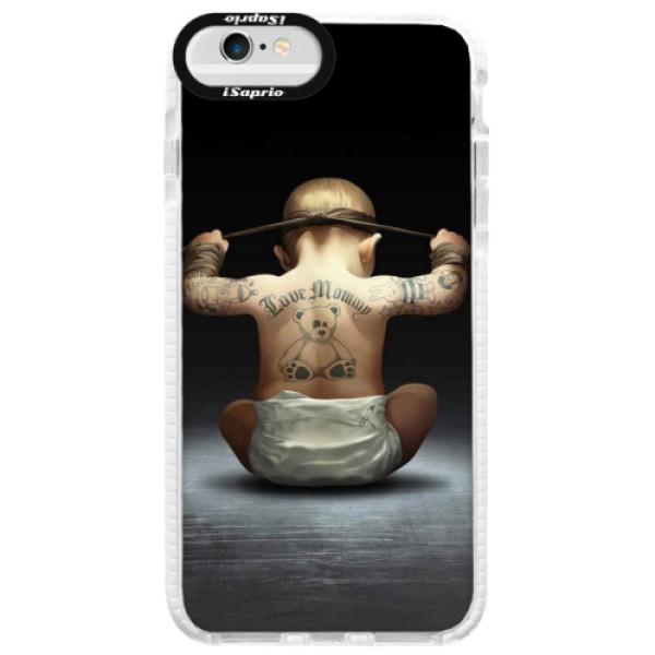 Silikonové pouzdro Bumper iSaprio - Crazy Baby - iPhone 6 Plus/6S Plus