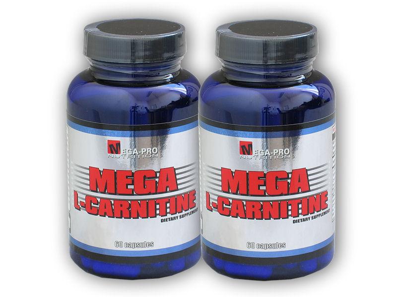Mega L-Carnitine 60cps + 1x ZDARMA