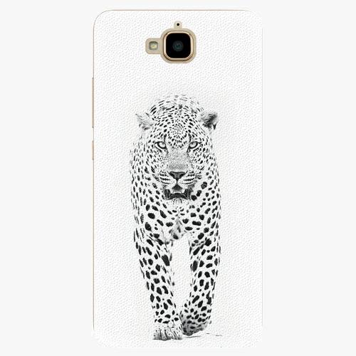 Plastový kryt iSaprio - White Jaguar - Huawei Y6 Pro