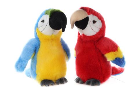 Plyš Papoušek 23 cm