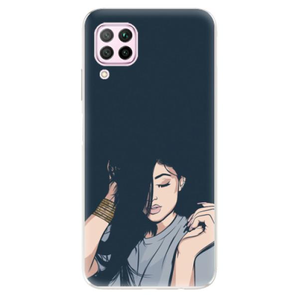 Odolné silikonové pouzdro iSaprio - Swag Girl - Huawei P40 Lite