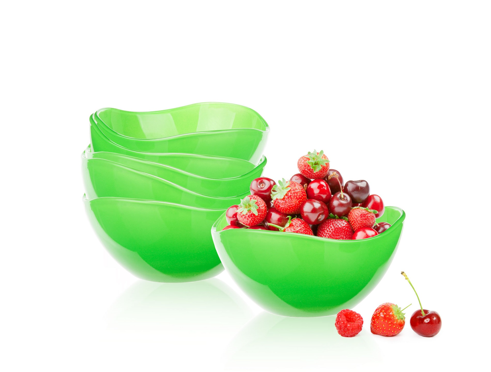 Salátová miska D-120 zelená