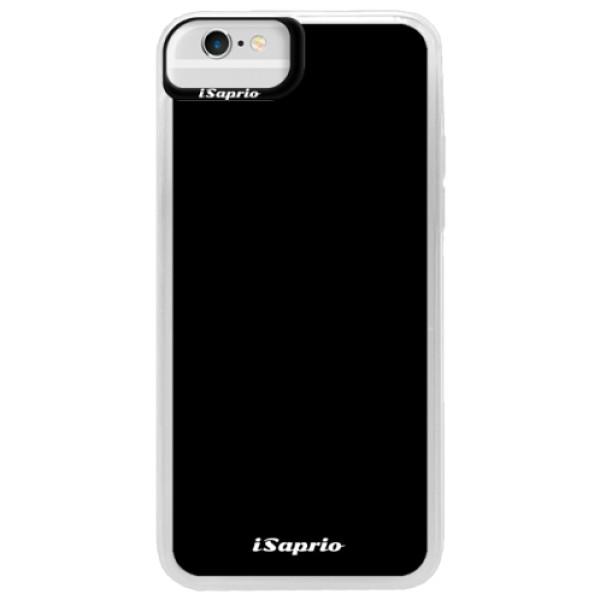 Neonové pouzdro Blue iSaprio - 4Pure - černý - iPhone 6/6S