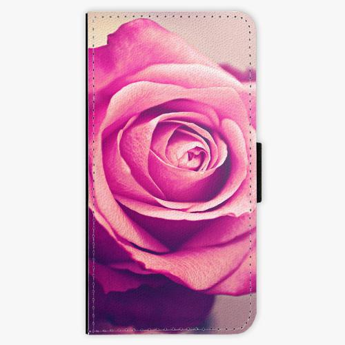 Flipové pouzdro iSaprio - Pink Rose - Sony Xperia XZ
