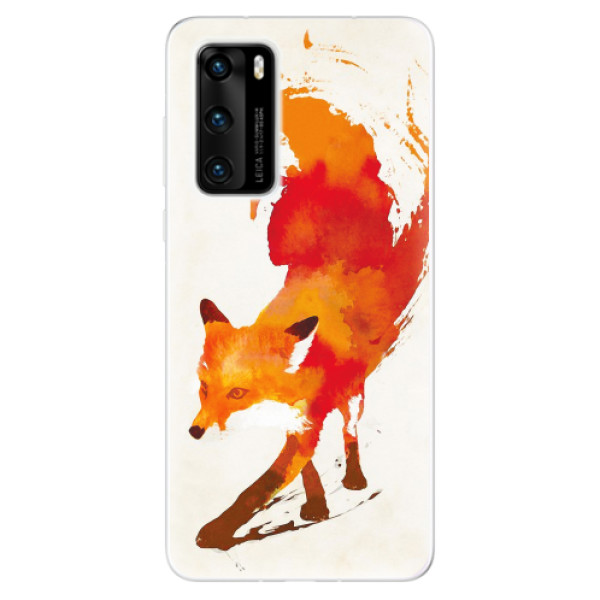 Odolné silikonové pouzdro iSaprio - Fast Fox - Huawei P40