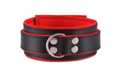 Obojek - black/red