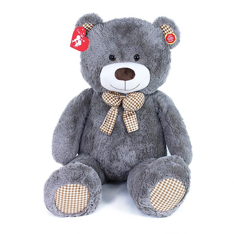 Velký plyšový medvěd Fanda s visačkou 130 cm