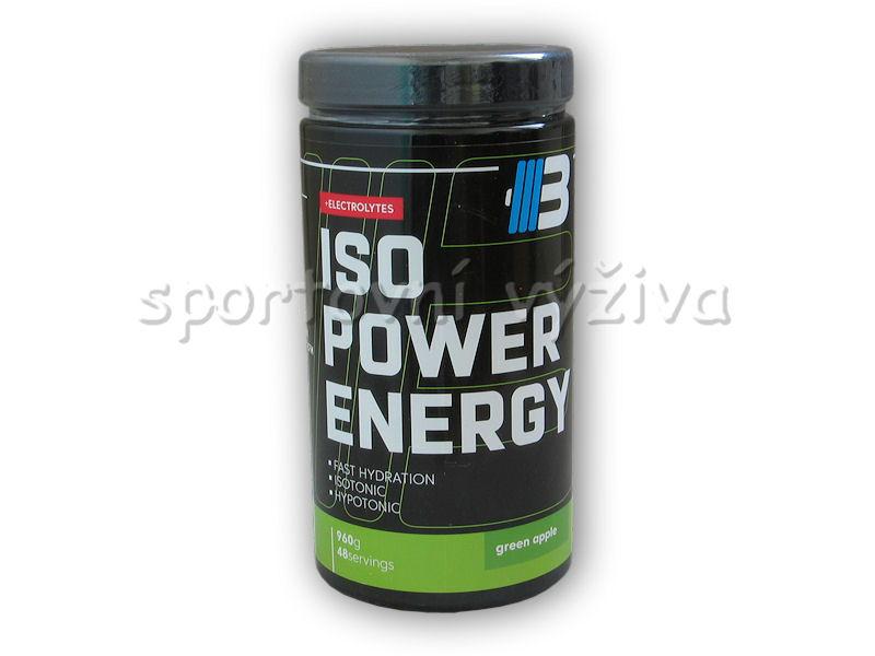 Iso power energy + elektrolyty 960g-jablko