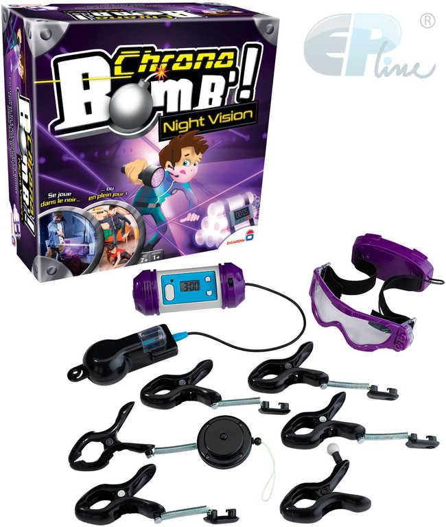 EP line HRA Chrono Bomb Night Vision na baterie UV Světlo *SPOLEČENSKÉ HRY*