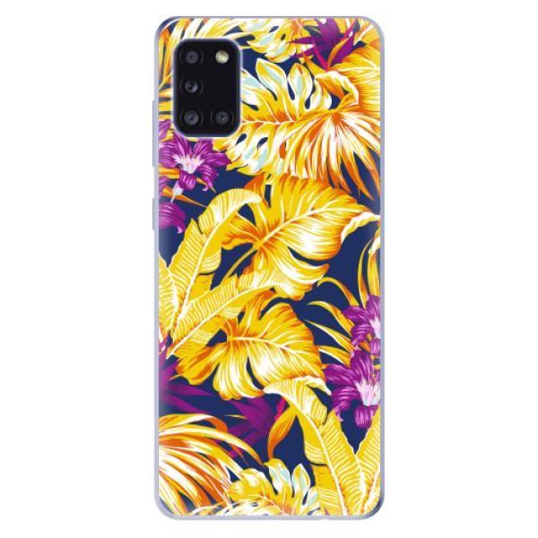 Odolné silikonové pouzdro iSaprio - Tropical Orange 04 - Samsung Galaxy A31