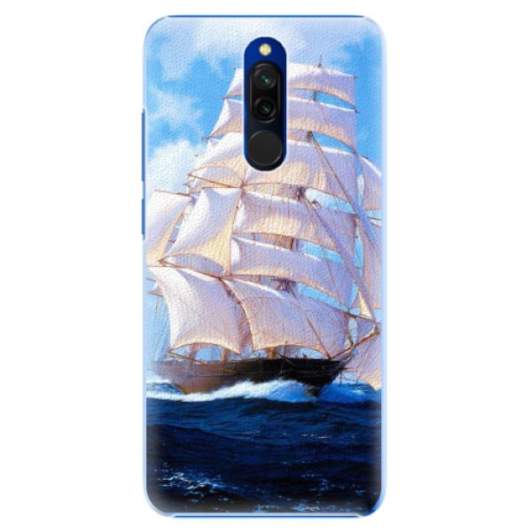 Plastové pouzdro iSaprio - Sailing Boat - Xiaomi Redmi 8