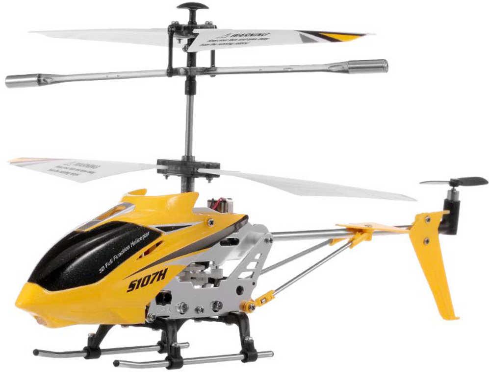 RC Vrtulník Syma S107H na vysílačku 2,4GHz na baterie USB kov LED Světlo