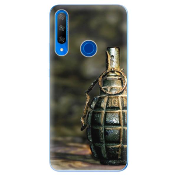 Odolné silikonové pouzdro iSaprio - Grenade - Huawei Honor 9X