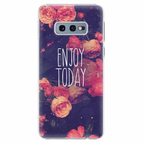 Plastový kryt iSaprio - Enjoy Today - Samsung Galaxy S10e