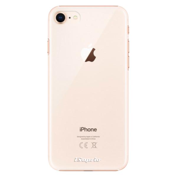 Plastové pouzdro iSaprio - 4Pure - mléčný bez potisku - iPhone 8
