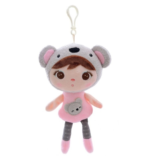 metoo-mini-hadrova-panenka-s-klipem-medvidek-koala-22cm