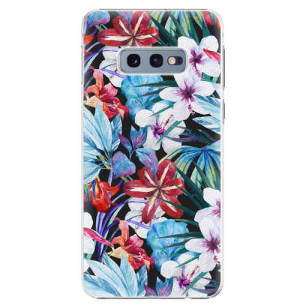 Plastové pouzdro iSaprio - Tropical Flowers 05 - Samsung Galaxy S10e