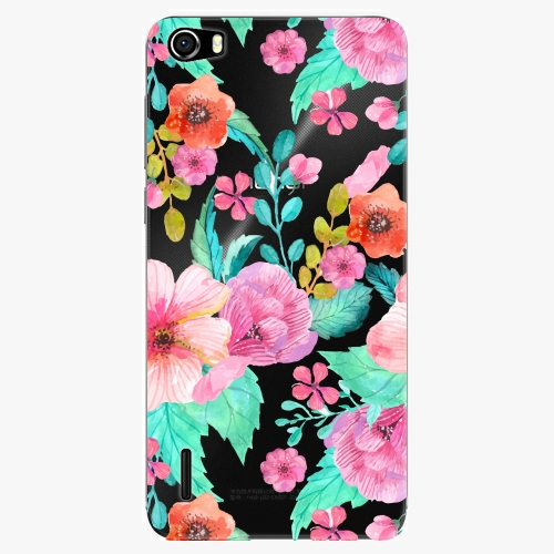 Plastový kryt iSaprio - Flower Pattern 01 - Huawei Honor 6