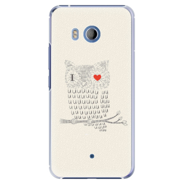 Plastové pouzdro iSaprio - I Love You 01 - HTC U11