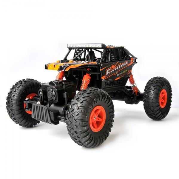 Crawler ENGINE - proporcionální, 1:18 4WD RTR ORANŽOVÝ