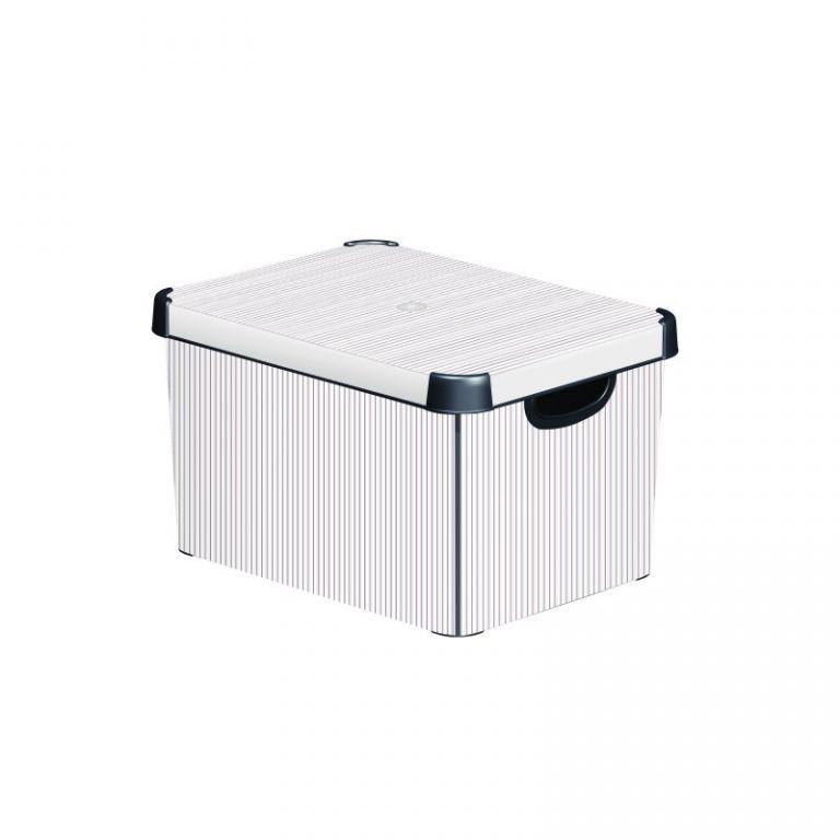 Plastový úložný box DECO - L - CLASSICO CURVER