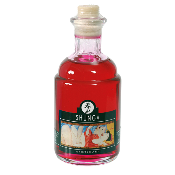 Shunga - Aphrodisiac Warming Oil Raspberry Feeling 100 ml
