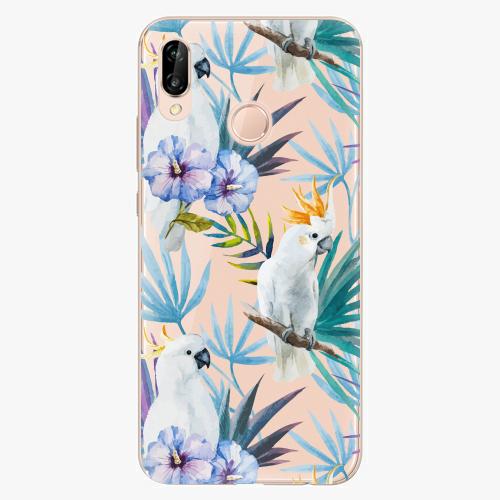 Plastový kryt iSaprio - Parrot Pattern 01 - Huawei P20 Lite