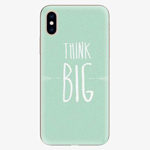 Plastový kryt iSaprio - Think Big - iPhone XS