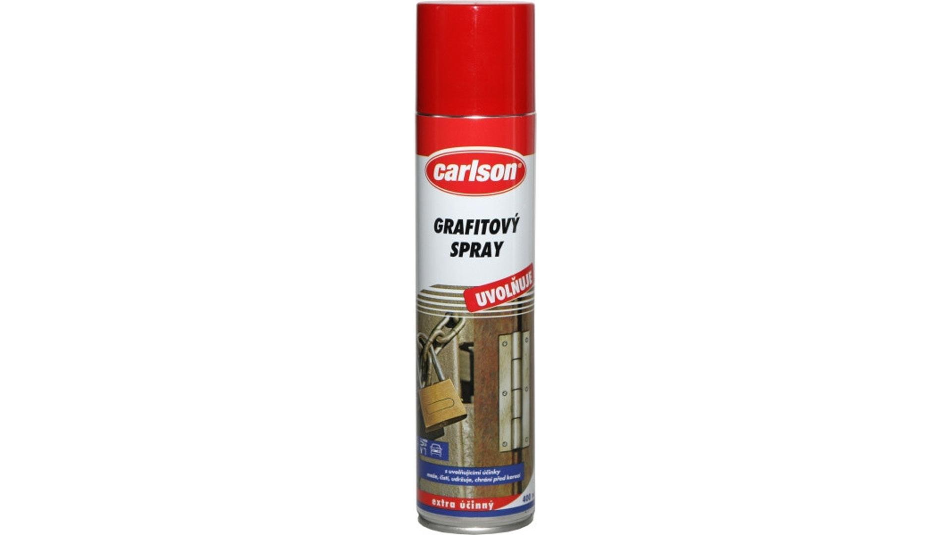 CARLSON grafitovej spray 400ml - aerosol