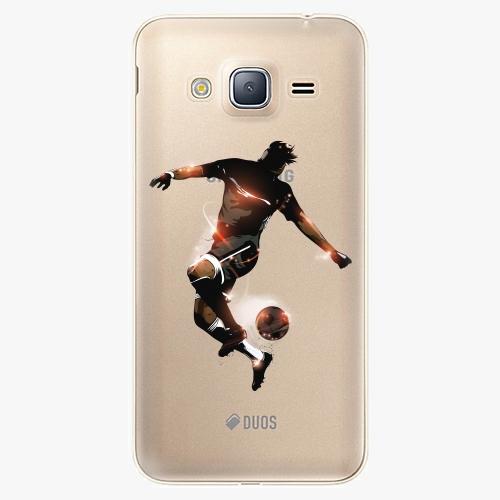 Plastový kryt iSaprio - Fotball 01 - Samsung Galaxy J3