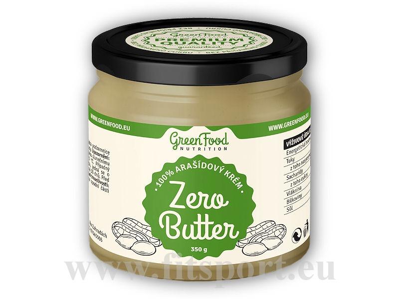 Zero Butter <b>arašídový</b> krém natural 350g