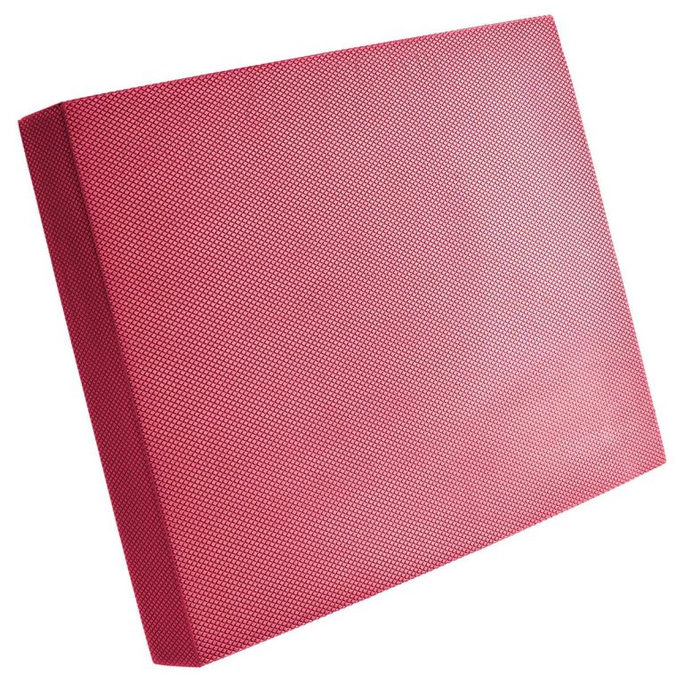 MAXXIVA Balanční podložka 40 x 50 x 6 cm, červená