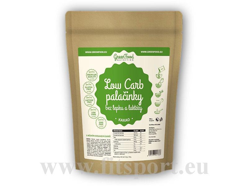 Low Carb Proteinové palačinky