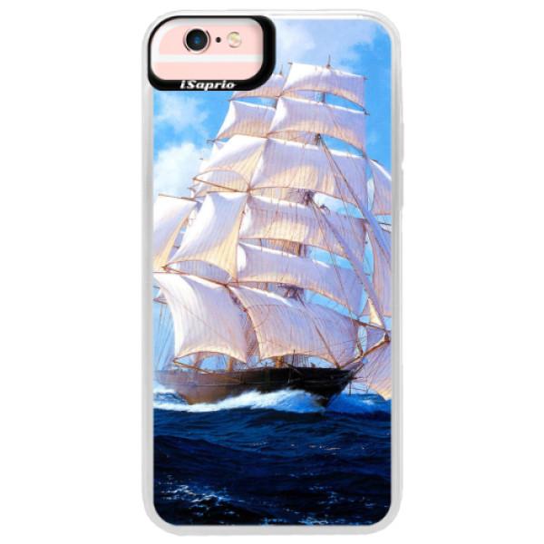 Neonové pouzdro Pink iSaprio - Sailing Boat - iPhone 6 Plus/6S Plus