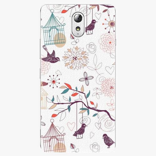 Plastový kryt iSaprio - Birds - Lenovo P1m