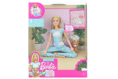 Barbie Wellness panenka a meditace GNK01