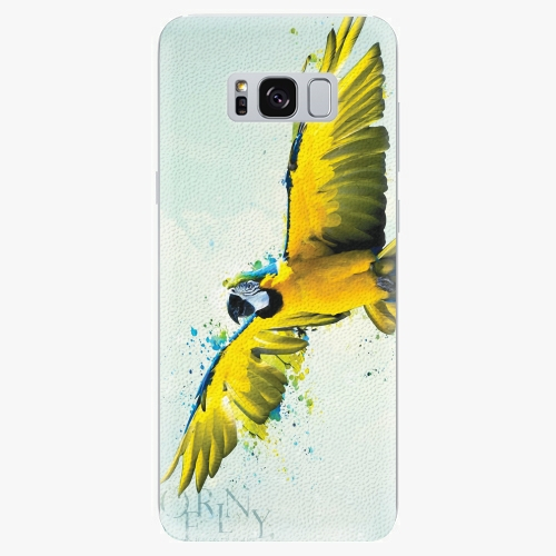 Silikonové pouzdro iSaprio - Born to Fly - Samsung Galaxy S8