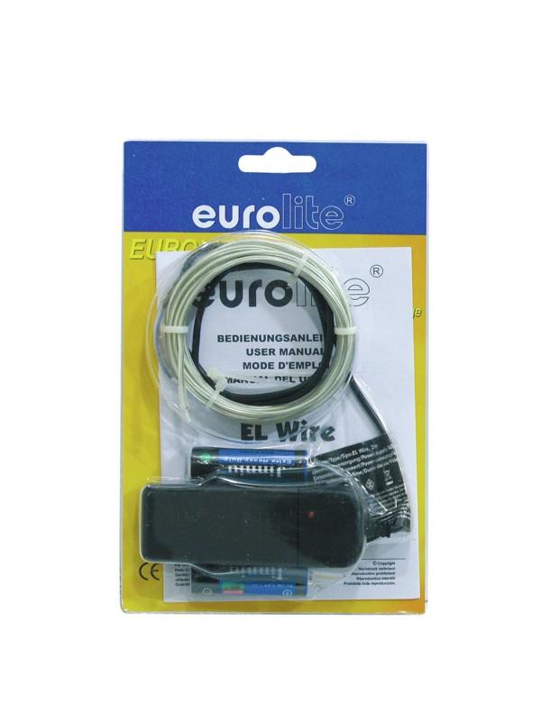 Eurolite neonový provázek 2mm, 2m, světle modrý