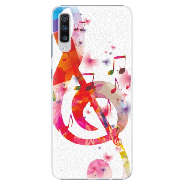 Plastové pouzdro iSaprio - Love Music - Samsung Galaxy A70