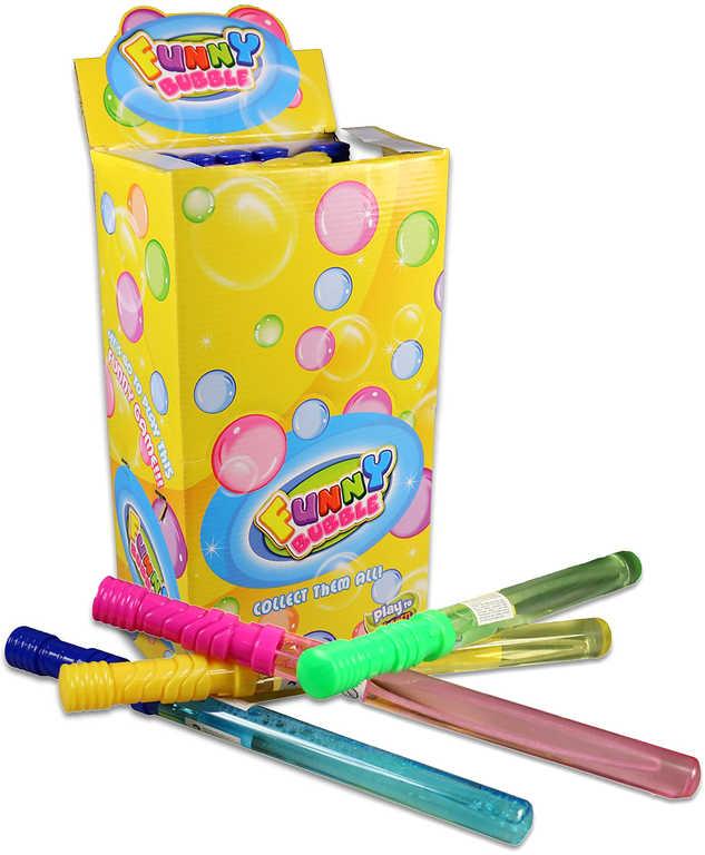 Bublifuk meč 37cm dětský bublifukovač velké bubliny 4 barvy