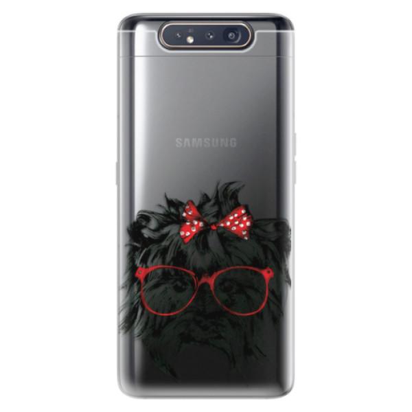 Odolné silikonové pouzdro iSaprio - Dog 03 - Samsung Galaxy A80