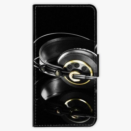 Flipové pouzdro iSaprio - Headphones 02 - Huawei Honor 9 Lite