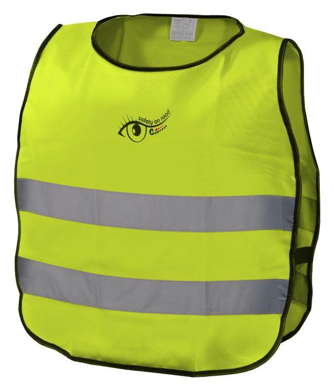 Výstražná dětská vesta S.O.R. - růžová